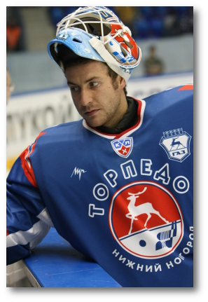 This is Brucks in a Torpedo Nizny Novgorod sweater.